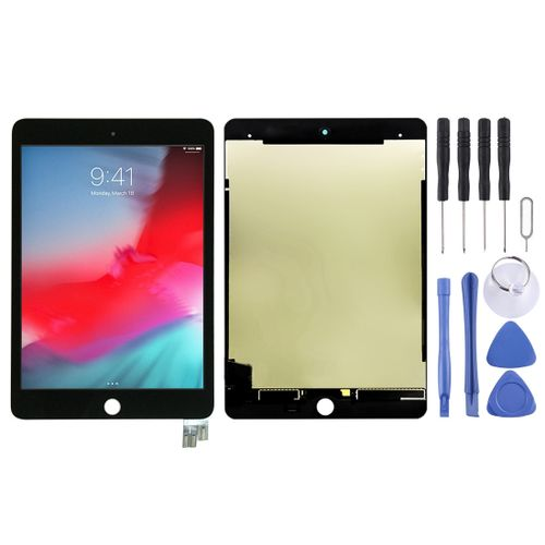LCD Screen and Digitizer Fullembly for iPad Mini (2019) 7.9 inch A2124 A2126 A2133(Black)