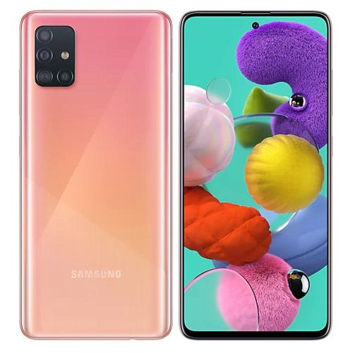 Galaxy A51 - 6.5'' - (6GB - 128GB) - Android10.0 - 4G - Camera 48MP- Rose
