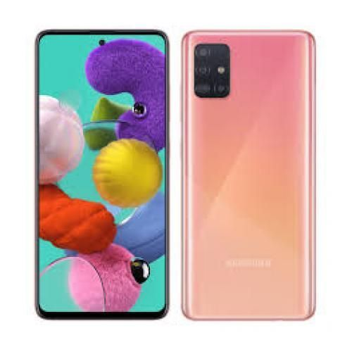 Galaxy A51 - 6.5'' FHD+ - (6GB - 128GB) - Android10.0 - 4G - Camera 48MP - Rose
