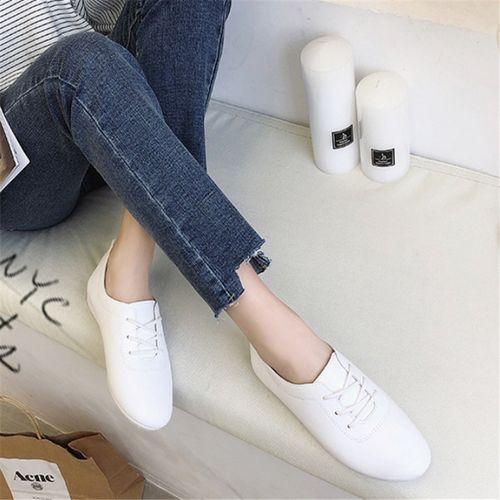 Autre Ladies Casual Breathable -up Flat shoes