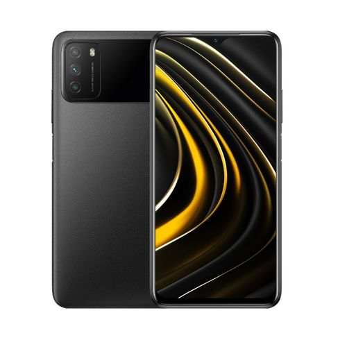 """POCO M3 6,53"""" (4Go, 64Go) 48MP+2MP+2MP/8MP Android – Noir"""