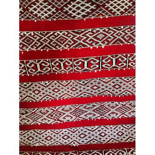 generic hanbal tapis berb re traditionnelle du moyen atlas beni ouarain rouge dimensions