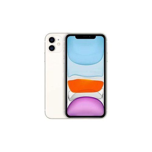 "iPhone 11, 6.1"", 4Go,128Go - Blanc"