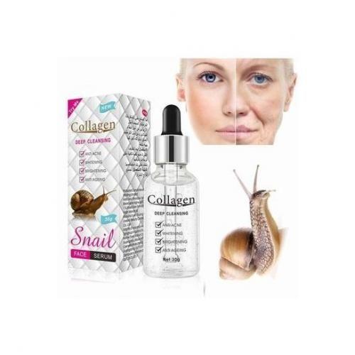 Snail Collagène serum escargot snail anti-age anti vieillissement anti acné anti rides blanchissant eclaircissant visage acide hyaluronic