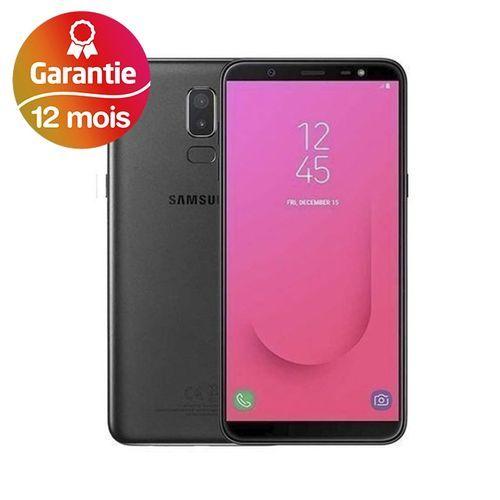 Galaxy J8, 6.0'', 4Go, 64Go - Noir - Garantie 1 an