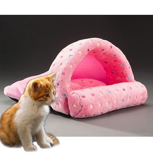 Pet Supplies Detachable Pets Nest Cute Slippers Shape Mongolia Bag Cat Dog House, Small, Size:50*40cm(Pink)