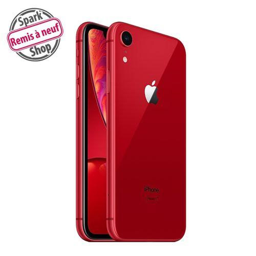 "iPhone XR, 6.1"", 64Go - Red - Remis à Neuf"