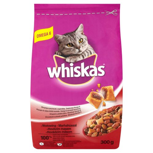 Whiskas Croquettes Boeuf Chats Adulte 300G