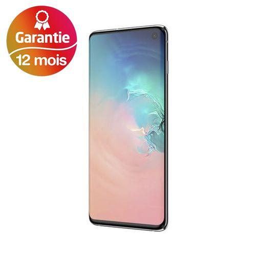"Galaxy S10, 6.1"", 8Go, 128Go - Blanc - Garantie 1 an"