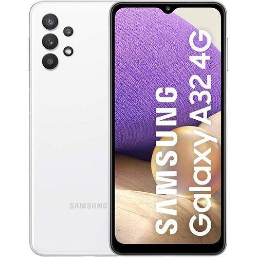 """Galaxy A32 Blanc 6 GB + 128 GB Storage 6.4"""" 5,000mAh"""