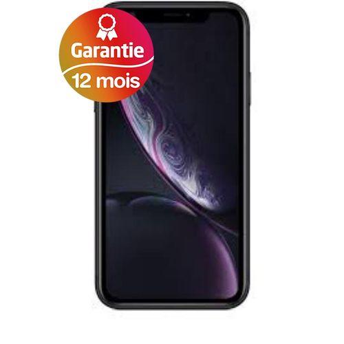 """iPhone XR, 6.1"""", 3Go, 64Go - Noir - Garantie 1 an"""
