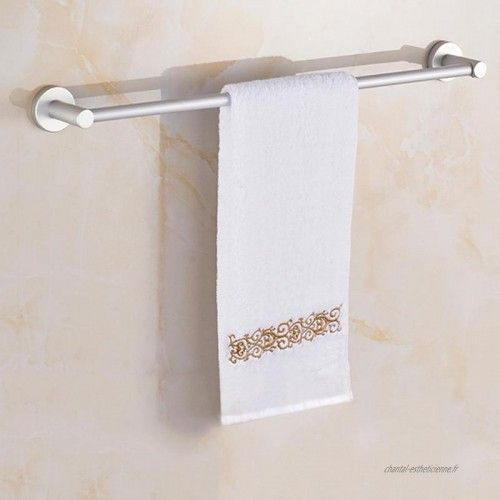 Aluminium serviette support avec Rangement et Crochet Serviette Salle de bains Bain