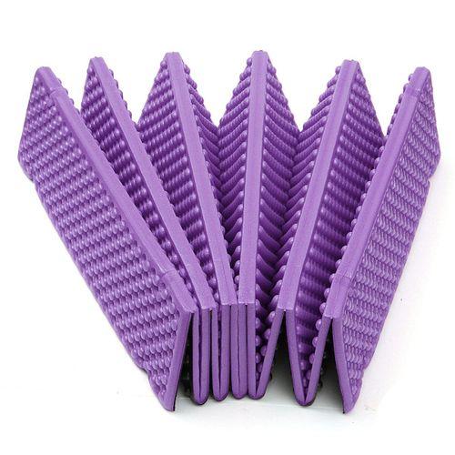 183 * 57 2cm Outdoor Folding Mat Picnic Pad Waterproo Purple
