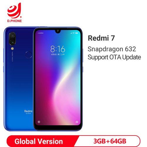 Redmi 7 - 6.26'' FHD - 3Go Ram - 64 Go ROM - Android 9.0 Pie -
