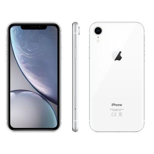 "iPhone XR, 6.1"", 64Go - Blanc - Remis à Neuf"