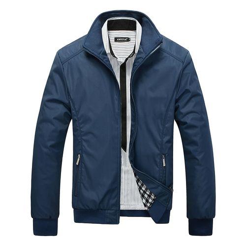 Fashion Veste homme décontractée homme d'affaires-bleu