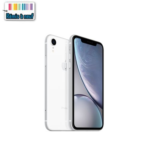 Iphone Xr 64Go blanc (Remis à Neuf )