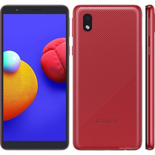 """PACK 10 PIECES Galaxy A01 Core 5.3 """" (16Go, 1Go) 8MP/5MP Android 10 - red"""