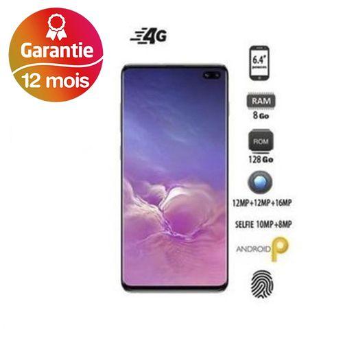 "Galaxy S10+, 6.4"", 8Go, 128Go - Noir - Garantie 1 an"