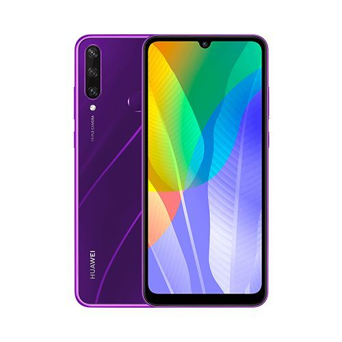 """Huawei Y6P 6.3"""" (3Go, 64Go) 13MP+5MP+2MP/8MP Android - Violet"""