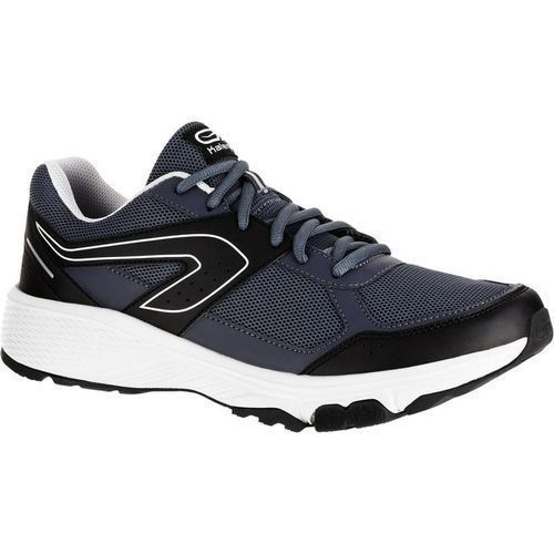 Kalenji Chaussure course a pied homme run cushion noir