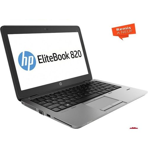 "PC Portable HP Elitebook 820 G2 Core i5 5th -13"" RAM 8Go 500HDD -Remis a Neuf"