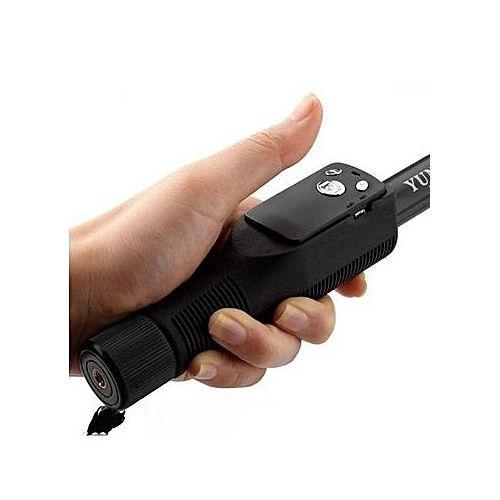Perche Selfie 1M25 avec Télécommande Bluetooth - Pour Telephone, Camera, GoPro