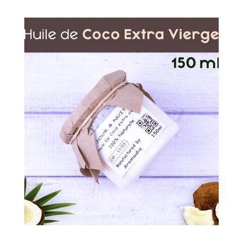 Jour & Nuit Huile de coco extra vierge 100 % Naturel