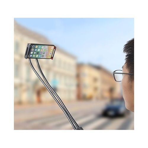 Support Cou Telephone Smartphone et Tablette, Flexible, Réglable, Selfie, Rotation 360 degrés - Pour iPhone, Samsung, Oppo, LG, Huawei, HTC