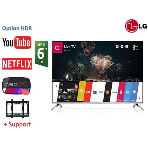 """32"""" Smart TV WEBOS Série 6+HDR+Récepteur intégré +TNT +Support tv"""