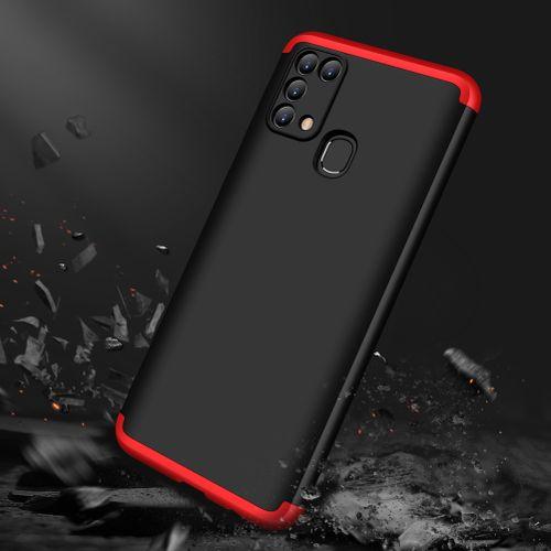 Samsung Galaxy M31 3 In 1 Hard PC Case - Black/Red