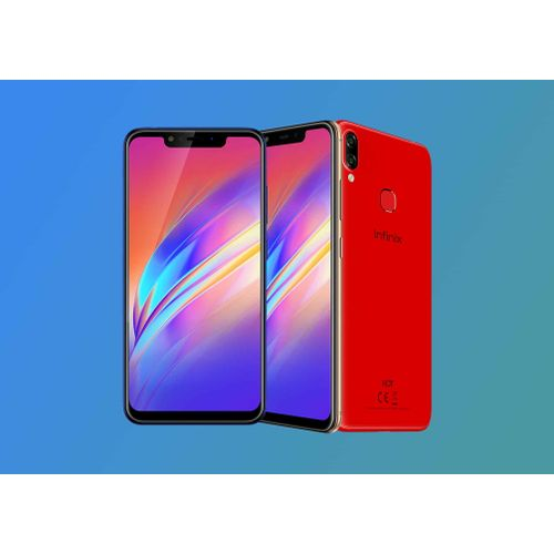 """Hot 6X (X623) 6.2"""" 4G - 3Go, 32Go Android 8.1 - Rouge"""