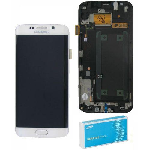 Afficheur / Ecran pour Original Samsung Galaxy S6 Edge SM-G925F - Blanc