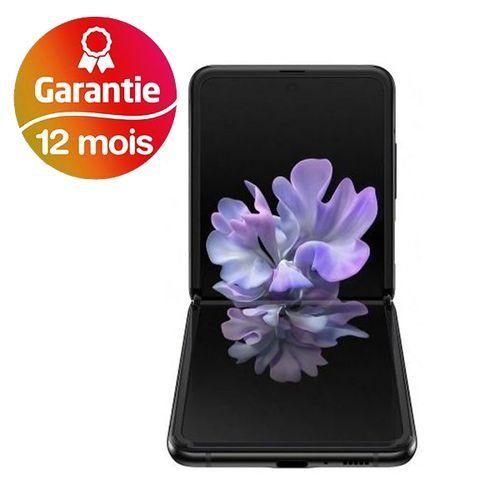 """Galaxy Z Flip 6.7"""" (256Go, 8Go) Android 12MP+12MP/10MP - Miroir Noir - 1 an de garantie"""