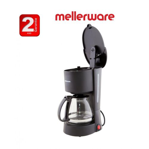 Mellerware Cafetière filtre noir Mellerware 6 Tasses -2ans de garantie