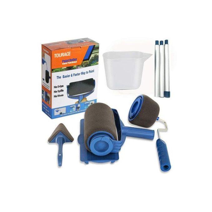 Pack X6 Rouleaux à Peinture Avec Bâtons Paint Roller Pro