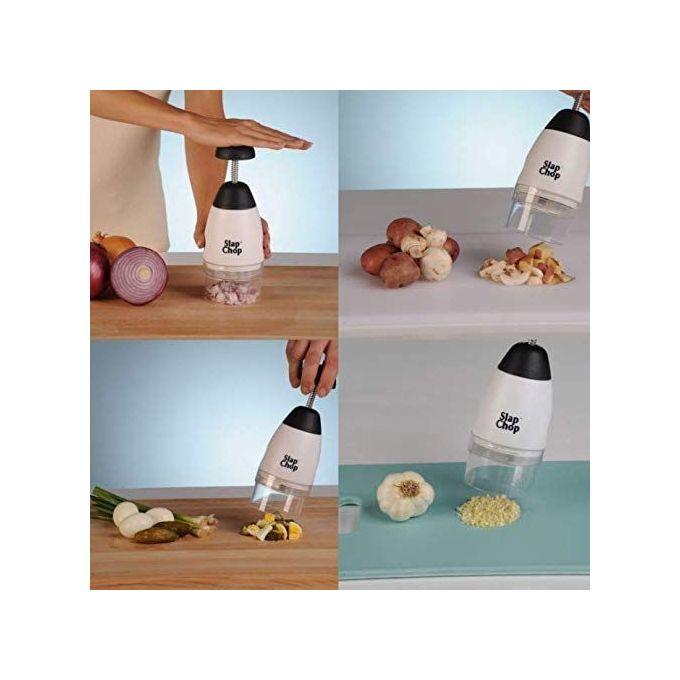 Slap & Chop Râpe Coupeur Slap Chop Hachoir à légumes Tomate ...