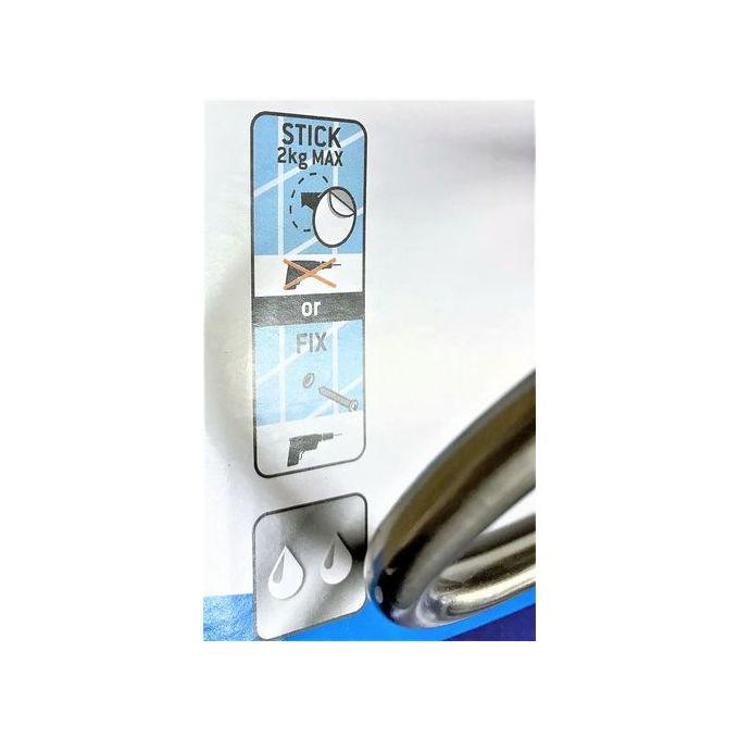 Porte Papier Toilette Acier Sans Couvercle Larg 17cm Suite Porte Papier Wc