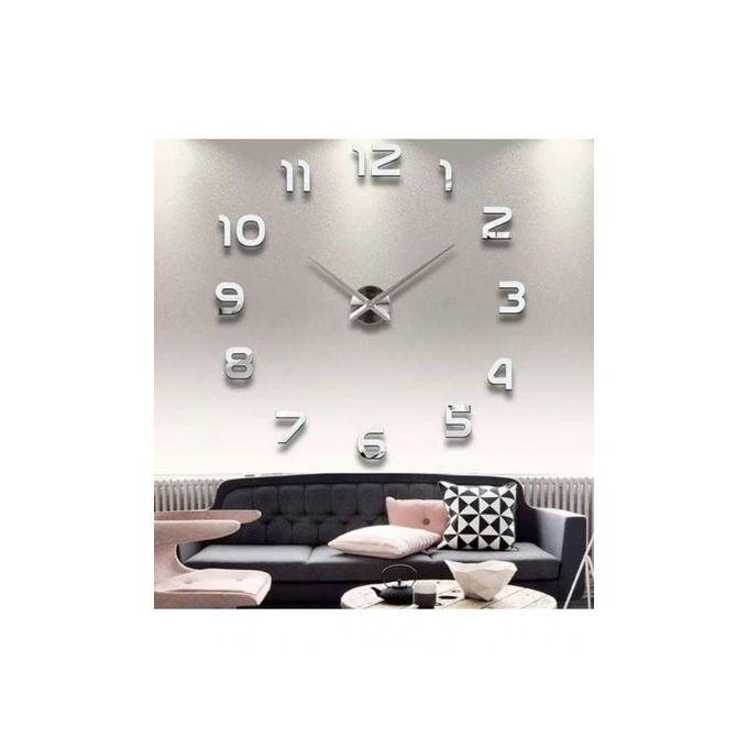 Horloge Murale 3d Montre Murale Salon Chambre Bureau