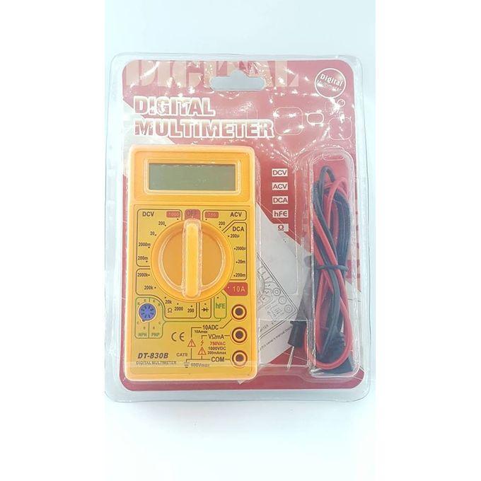 Multimètre Dt 830b électrique Voltmètre Ampèremètre Ohm Testeur Ohmmètre