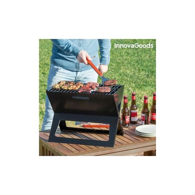 Barbecue Pliable Portable Brûleur Four En Plein Air A Charbon