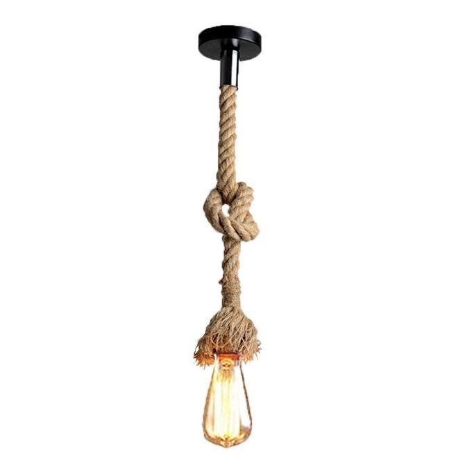 Suspension Vintage Corde Edison Lampe à Filaments St64 Led Offerte