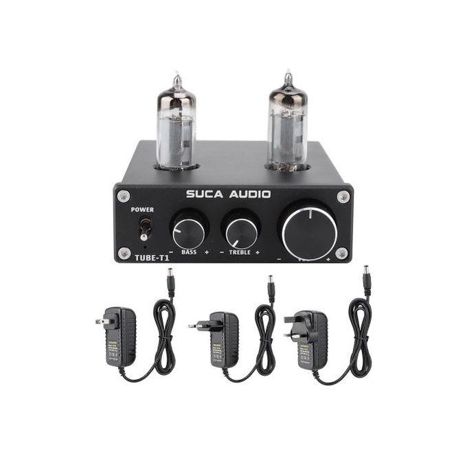 Tube T1 Electron Valve Tube Hifi Audio Pre Amp Stereo Bile Preamplifier Decoder Effector