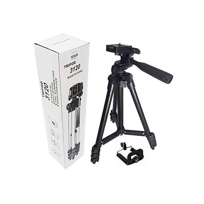 product_image_name-Generic-Tripod Support 3120 pour camera et telephone en aluminium-1