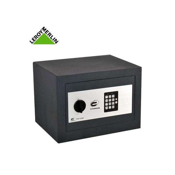 Coffre Fort à Code Pour Documents Avec Clé De Secours H25xl35xp25 Cm Garantie 1 An