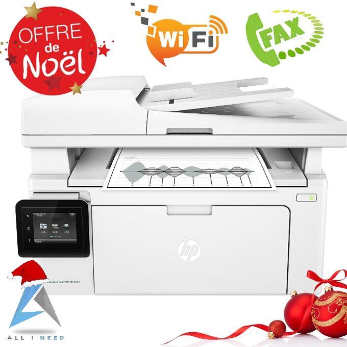 Imprimante M130fw Laser Multifonction Wi Fi Fax Scan Copie Print Offre Limité
