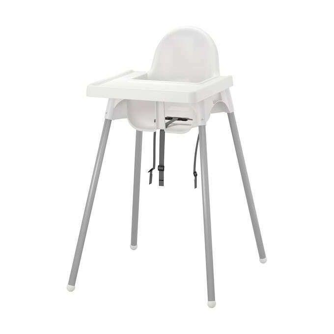 Ikea Chaise Haute Bebe Avec Tablette Ideal Pour Salon Cuisine
