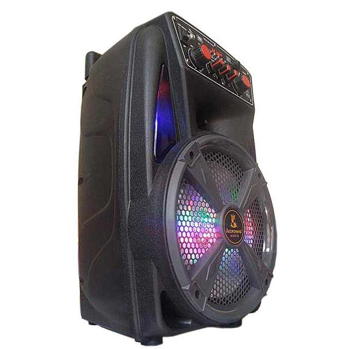 Ch 83w Haut Parleur Portable Rechargeable à Lintérieur Et à Lextérieur Avec Amplificateur Hi Fi Super Bass Support Bluetooth