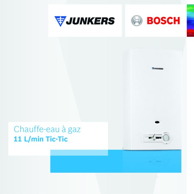 Chauffe Eau à Gaz 11 Litmin Tic Tic Sonde