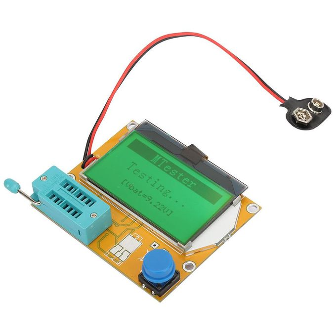 Compteur Graphique Transistor Résistance Condensateur Esr Inducteur Compteur Multimètre Testeur